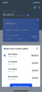 Coinbase Card App